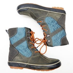 New Keen Women's Elsa II Quilted Waterproof Boots